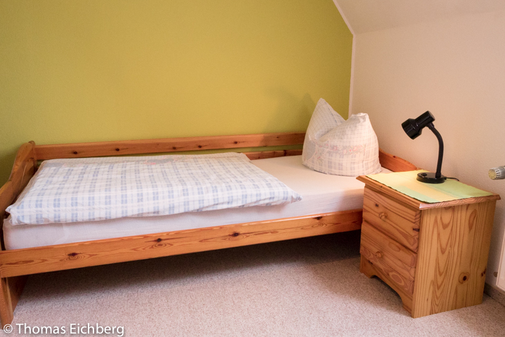 Ferienwohung bis 5 Personen: Schlafzimmer mit 2 Einzelbetten