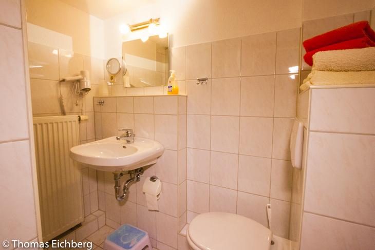 Ferienwohnung 2 - 3 Personen: Badezimmer