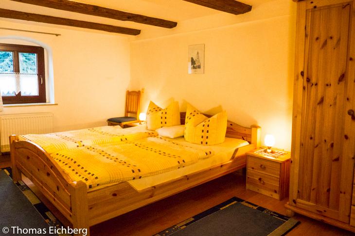 Ferienwohnung 2 - 3 Personen: Schlafzimmer