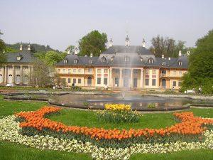 pillnitz-bergpalais-tulpen